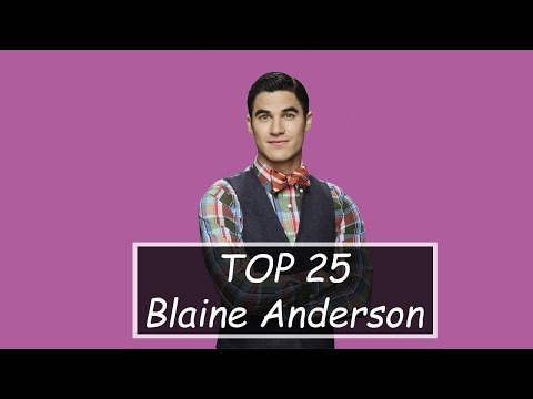 TOP 25 Glee - Blaine Solos