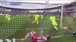 Almeria - Barcelona Highlights HD 08.11.2014