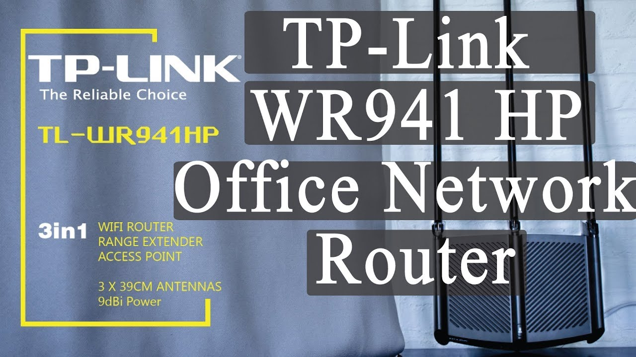 Tp Link Office Network Router Details Small Medium Tl Wr941 Hp