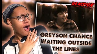 I react to greyson chance waiting outside the lines music video. if you like what see and are new channel subscribe for more content. videos w...
