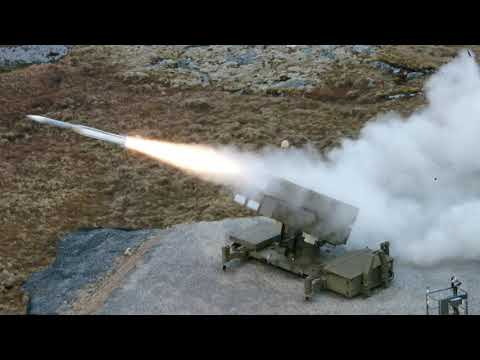 The AMRAAM®-ER missile takes to the sky
