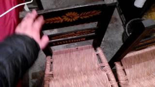 Sillas hechas por manos mexicanas