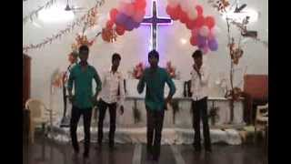 Tamil christian dance for KIRUBA KIRUBA song by ECI mgr nagar youth