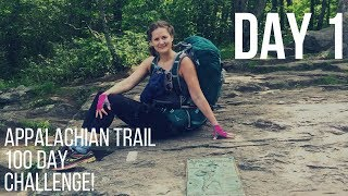 #1 Appalachian trail: Springer Mountain - The start of my 100 Day Challenge