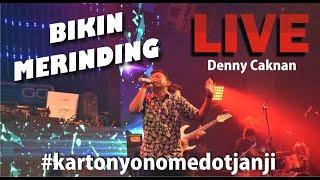 LIVE DENNY CAKNAN ( YOGYAKARTA ) - kartonyono medot janji