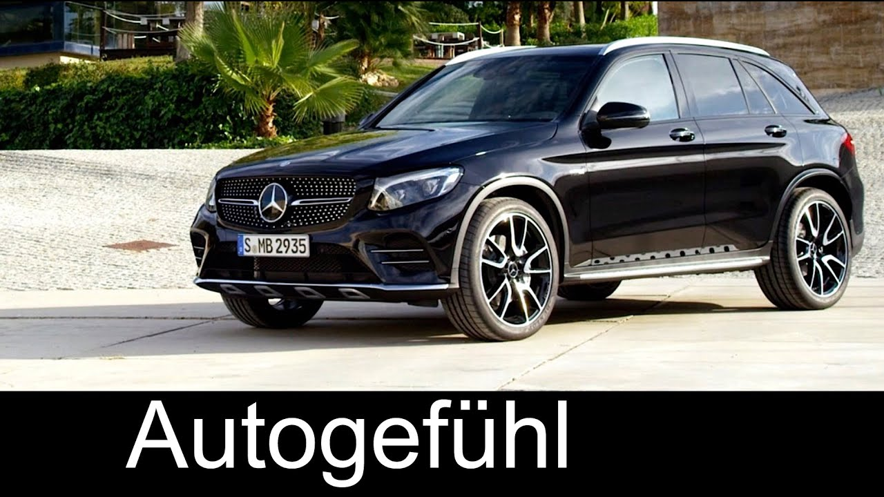 mercedes amg glc 43 4matic preview sound exterior interior. Black Bedroom Furniture Sets. Home Design Ideas