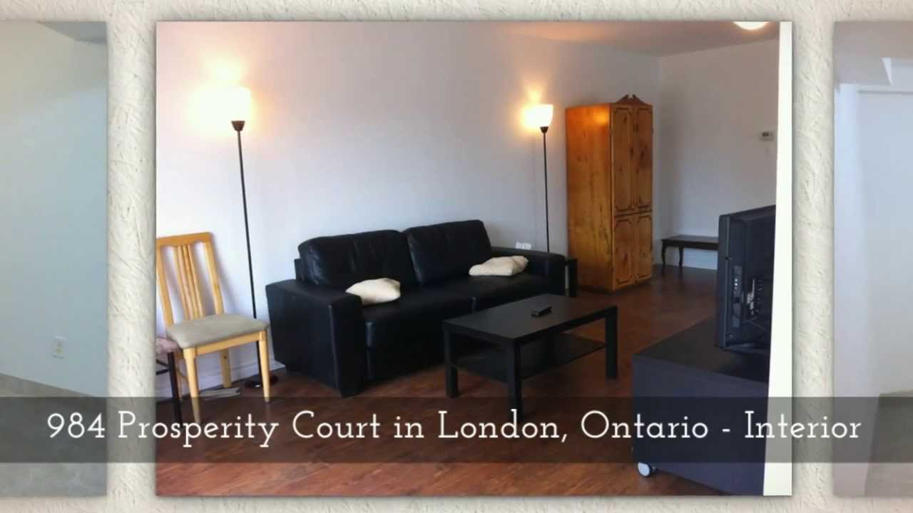 984 prosperity court, london ontario - fanshawe college 5 bedroom