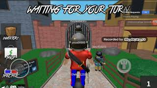 Playing murder mysteri 2 in roblox with my cousin Hugo and bruno