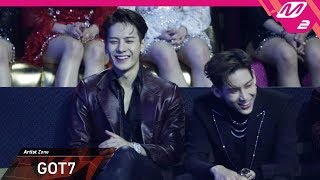 [2018MAMA x M2] 갓세븐(GOT7) Reaction to 워너원(Wanna One)'s P…
