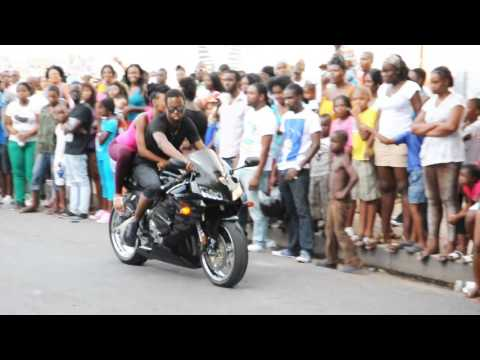 Mad Anju Bike Show South Side Kingston Jamaica Easter Monday 2013