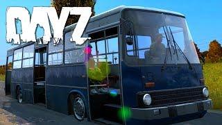 DayZ Standalone - Durch die feindlichen Linien - Bus-Abenteuer - M4 [Gameplay] Let