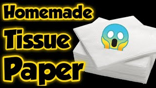 Diy Homemade Tissue Paper/How to make Tissue Paper at home/Homemade Tissue Paper/Diy Homemade paper