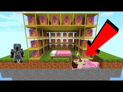 Minecraft: HELLO NEIGHBOR LUCKY BLOCK BEDWARS! - Modded Mini-Game