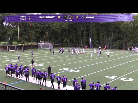 Cushing Academy - Varsity Football vs. Salisbury School