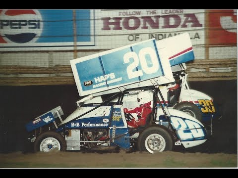 Knoxville Raceway - June 17, 1995 - 410/360 Heats & A/B Main Events