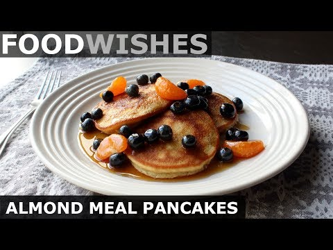 Almond Pancakes Keto Pancakes (Gluten-Free) Food Wishes