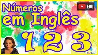 Aprender Números em Inglês Infantil  - Números inglês com Play Doh
