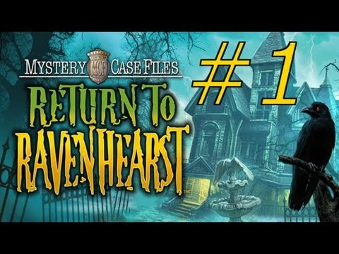 Mystery Case Files: Return To Ravenhearst Walkthrough Part 1
