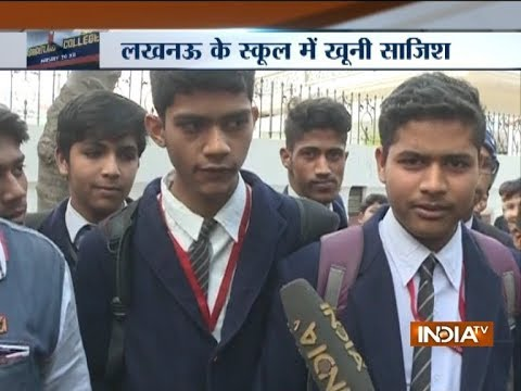 After Ryan school murder, another student attacked with knife in Lucknow school