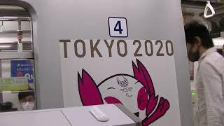 《TOKYO2020ラッピング》大江戸線12-000形45編成光が丘行き@都庁前駅