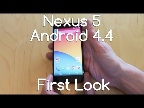 Nexus 5 Hardware and Software Android 4.4 First look - Androidizen
