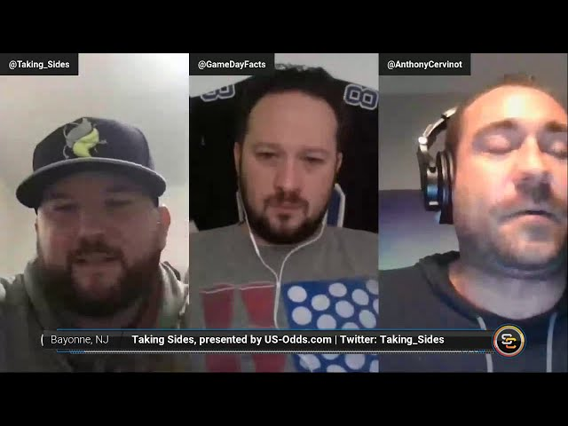 The Taking Sides Podcast Presented by US-Odds.com - Green Bay Packers at Houston Texans