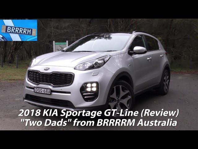 2018 KIA Sportage GT-Line SUV (Two Dads Review) | BRRRRM Australia