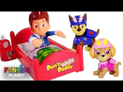 Paw Patrol Don't Wake Ryder Or Romeo Daddy Board Game