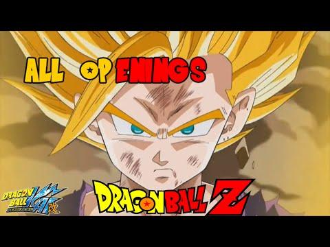 Tous les générique Dragon Ball [DB,DBZ,DBGT,DBZkai,DBS]