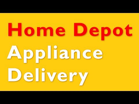 Unboxing? Home Depot Refrigerator Delivery - 4k UHD
