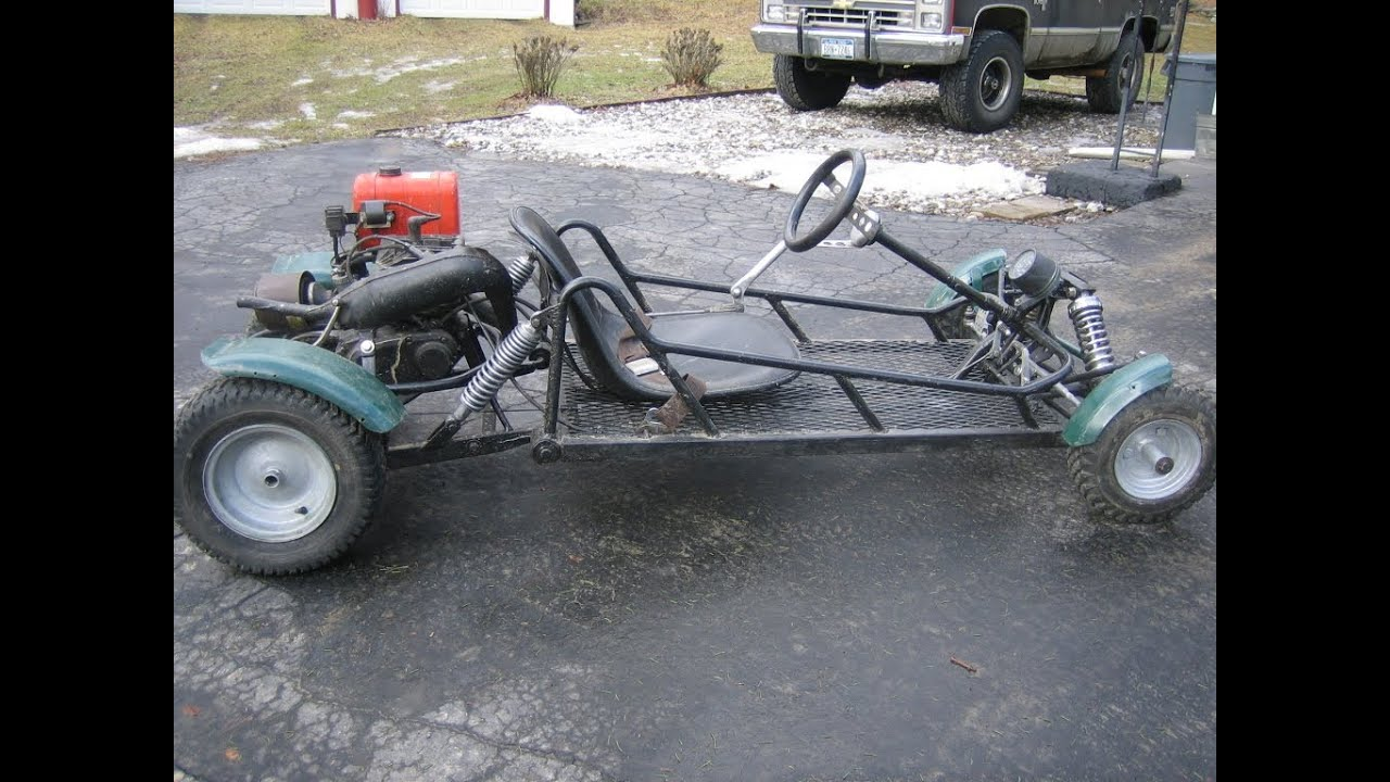 Bathtub Ideas Custom Made Gocart 175 With 2 Stroke Yamaha Dirtbike