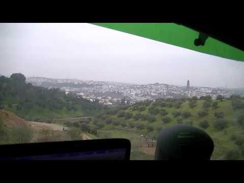 Bei Montoro in Spanien  Oliven Plantagen  Mit LKW unterwegs