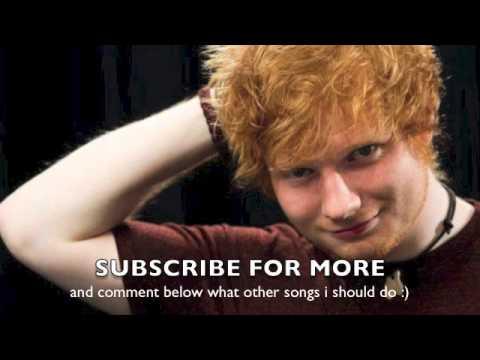 how to play kiss me by ed sheeran