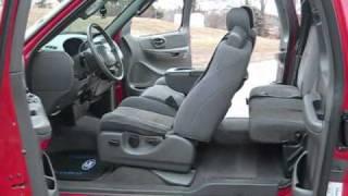 2003 Ford F150 FX4 4X4 Red on Black KMC HOSS XD's Video Showcase