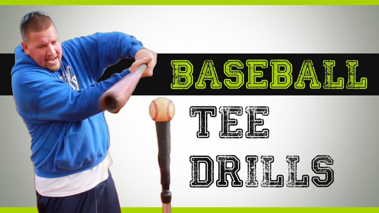 Baseball Tee Drills Hitting Drills You Can Do With A Batting Tee Youtube