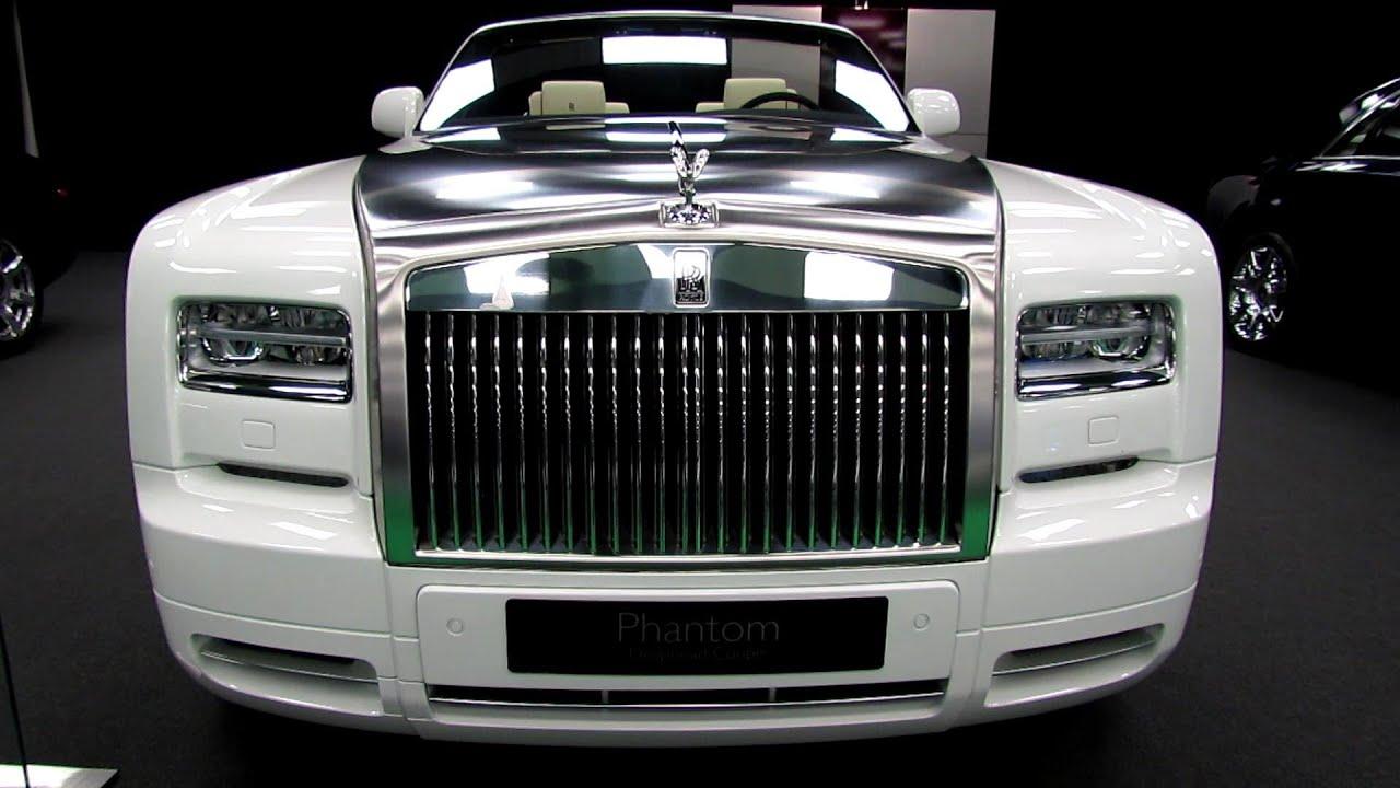 2013 Rolls-Royce Phantom Drophead Coupe Walkaround - 2013 Salon de