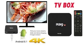 R39 4K Tv Box Review