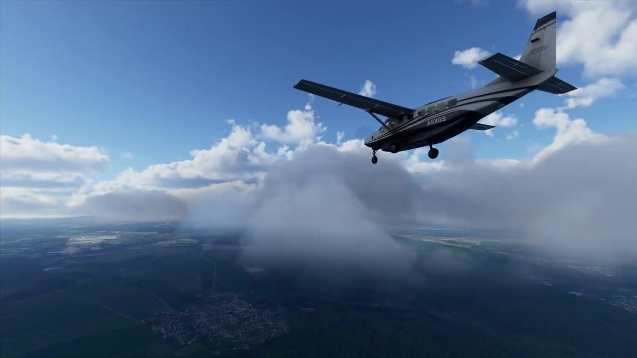 Microsoft Flight Simulator 2020   Deutschland - Nähe Brocken - Ohne Kommentar