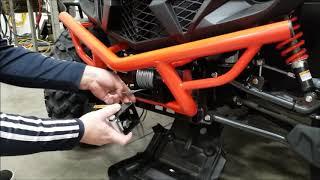 2009-2014 Honda TRX420FPA Rancher ATV New Warn VRX 3500 lb Winch /& Model Specific Mount