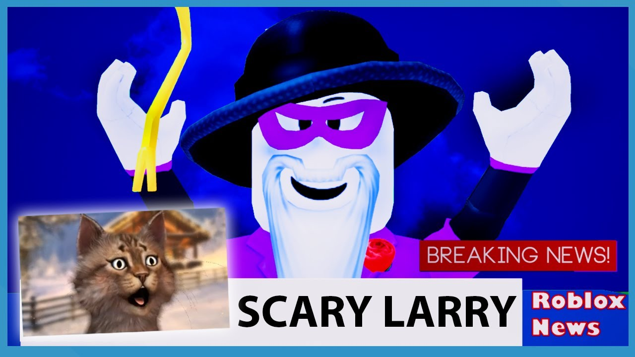 I Tried To Stop Scary Larry And This Happened Roblox Break In