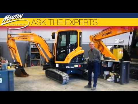 Ask The Experts: How to Change the Operator Control Pattern on an Excavator