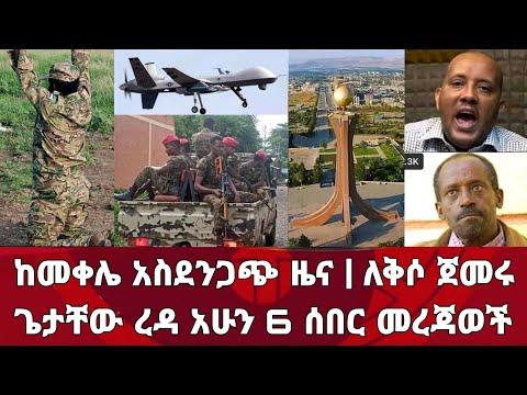 ሰበር ዜና! ከመቀሌ አስደንጋጭ ዜና ህዝቡ ለቅሶ ጀመረ እነ ጌታቸው ረዳ አሁን 6 ሰበር መረጃወች   Zena Tube   Zehabesha   Ethiopia