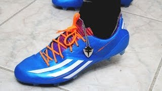 Unboxing Adidas Samba Adizero F50 Synthetic Ver. New Messi Boots 2014 | First Impressions + On Feet