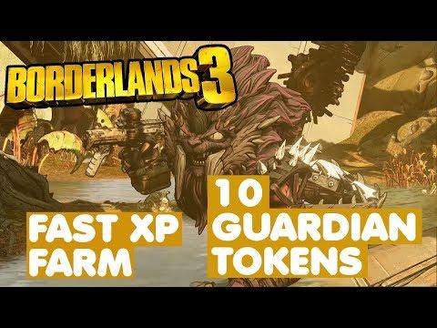 FAST FARM XP 10 GUARDIAN TOKEN 15 MINUTES - Borderlands 3 MM 3