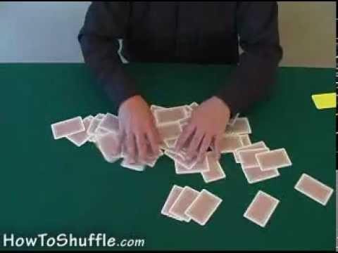 Как правильно перемешать карты для покера
