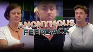 Feedback turns sour - James, Dee and Ricci | Day 18, Celebrity Big Brother