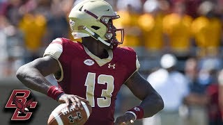 BC QB Anthony Brown Shines In Big Win vs. UMass
