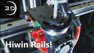Eclips3D2 Update - Hiwin Rails & Random Prints!