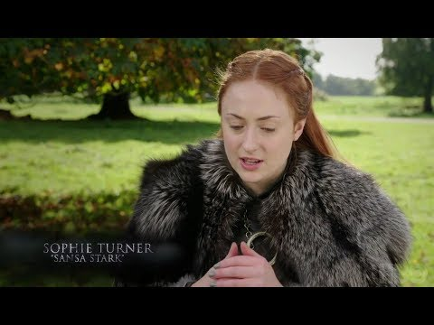 Maisie Williams, Sophie Turner and Isaac H.Wright on the Stark reunion