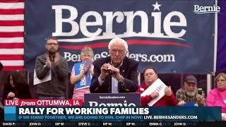 Bernie Rallies with Working Families in Ottumwa, Iowa